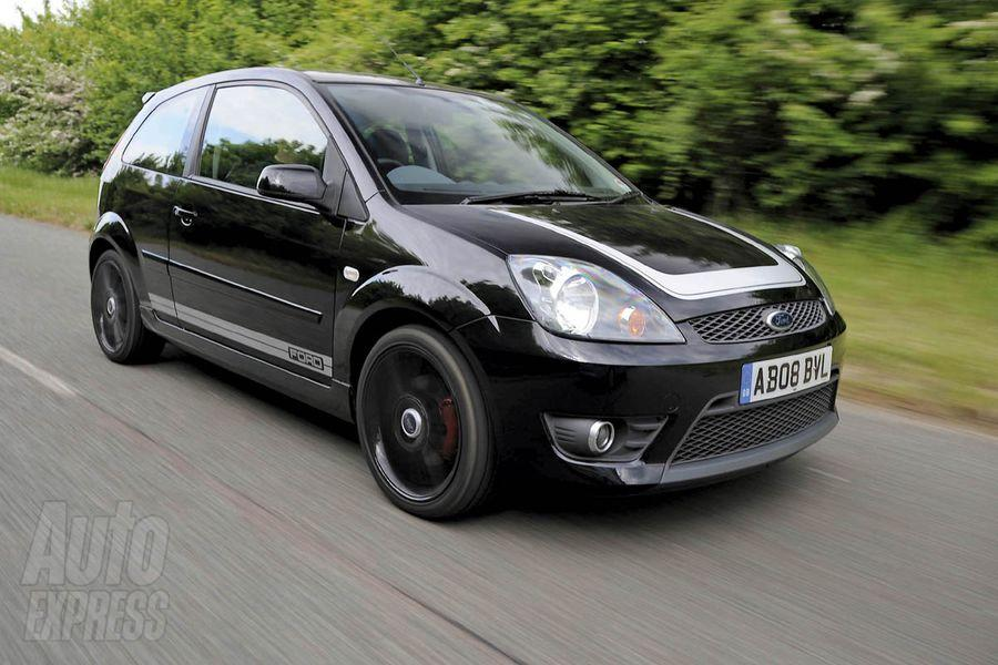 Photo de la Ford Fiesta ST500 noire