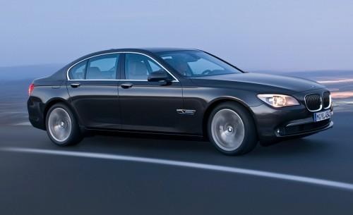 BMW Série 7 - 2009 - Vue latérale de la voiture