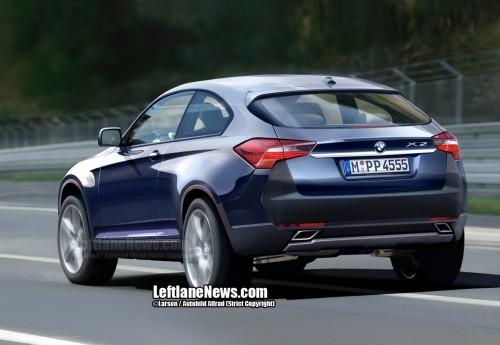 BMW X2 en dessin