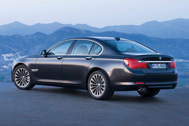 BMW 730 D —3/4 arrière