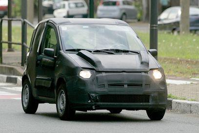 Cette voiture serait la soeur de la Fiat 500