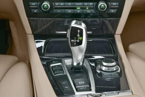 Photo du nouveau système iDrive de BMW