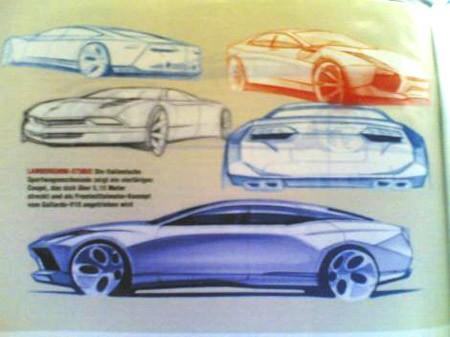 Dessin Lamborghini Estoque
