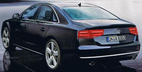 Est-ce vraiment l'Audi A8 2010 ?