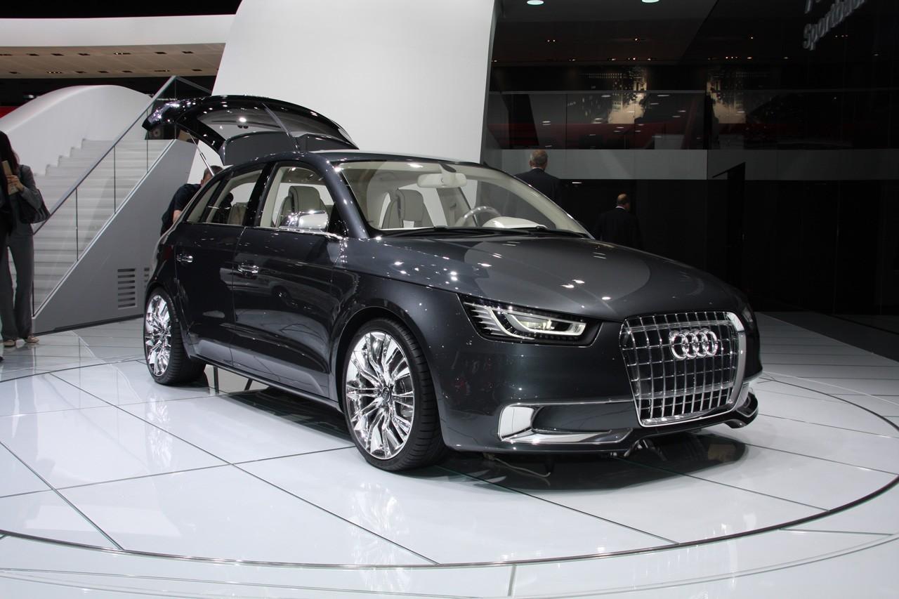 L'Audi A1 Sportback de 3/4
