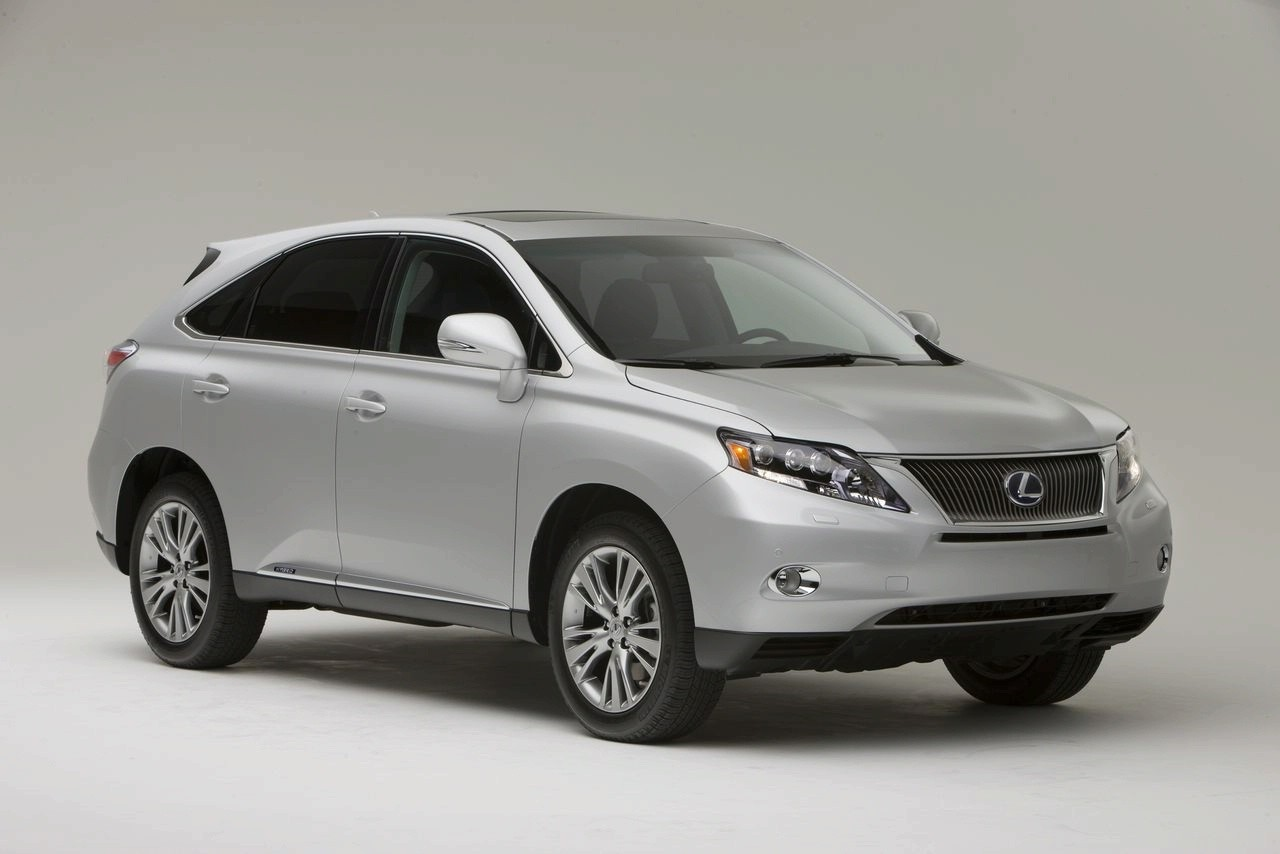 les lexus rx 450h et rx 350 de 2010 arrivent blog automobile. Black Bedroom Furniture Sets. Home Design Ideas