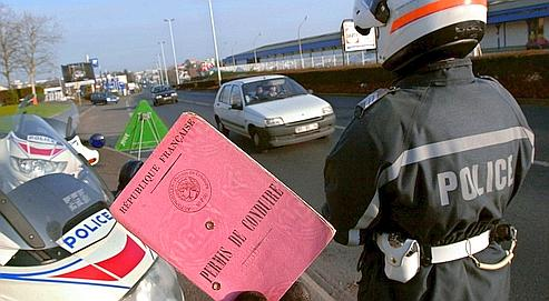 permis police