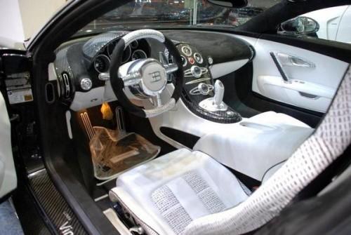 Intérieur Veyron Mansory