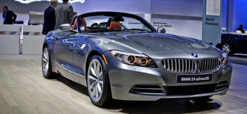 BMW Z4 2009 - vue de côté