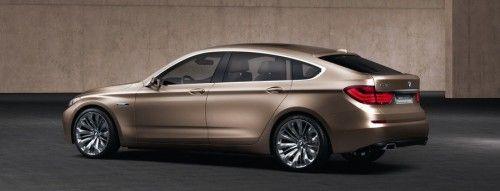 BMW Concept 5 Series Gran Turismo - vue de côté