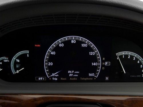 Mercedes Classe S : Dashboard 2009