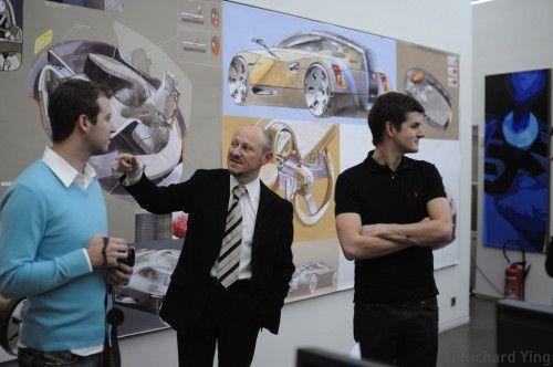 Gonzague au Renault Design Center