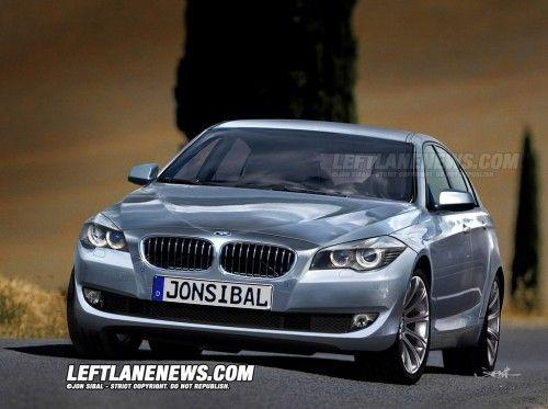 BMW Série 5 2010 - Rendu prévisionnel