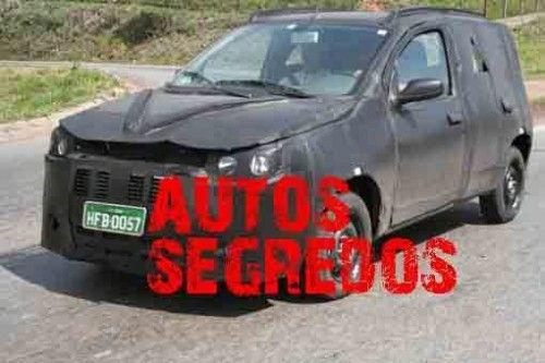 Une Fiat Uno très secrète