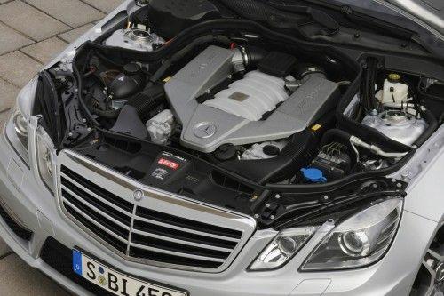 Mercedes E63 AMG (2010) - Le Moteur