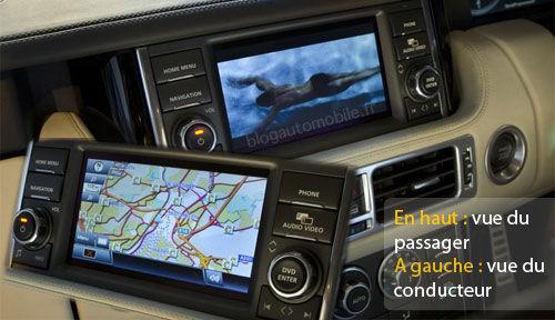 Dual View - Parallax Barier - Range Rover