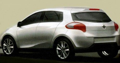 Renault Clio 2011 - Arrière (rendu)