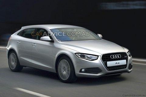 Audi A3 2011 - rendu