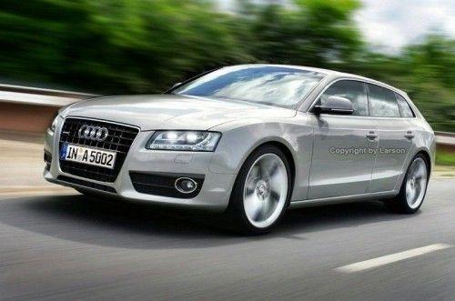 Audi A5 Sportback - Rendu d'artiste