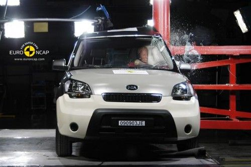 Kia Soul - Crash test