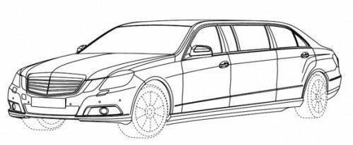Mercedes Classe E Pullman