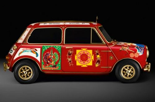 La Mini Cooper S de George Harrison