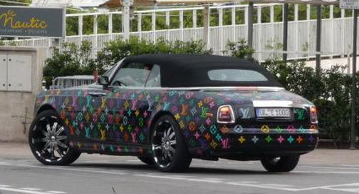 Phantom Drophead Coupe Louis Vuitton