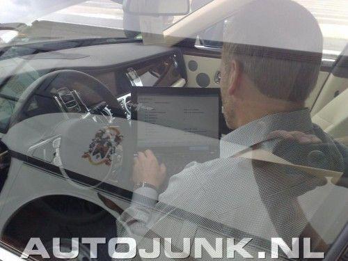 Intérieur de la Rolls-Royce Ghost