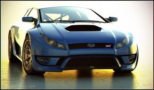 Subaru WRX STI Concept par Lars Martensson