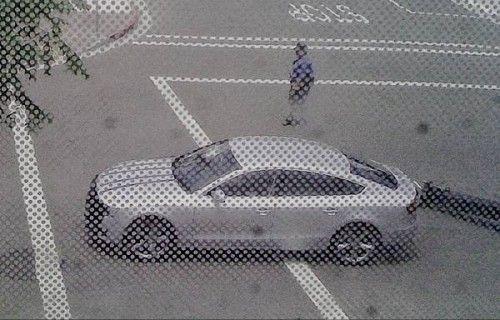 audi A5 sportback  spyshot in california