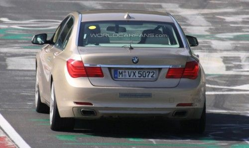 bmw serie7 hybrid on the ring