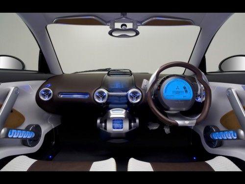 Mitsubishi i MiEV Sport dashboard