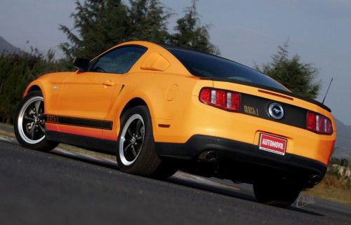 2011 mustang mach1 back