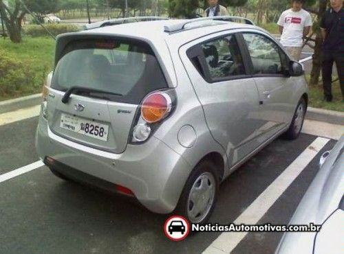 Daewoo-chevy Spark 2010 back