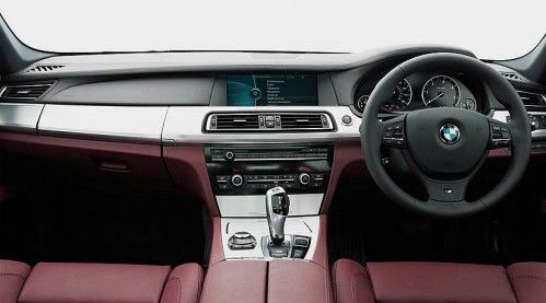 BMW-7-Series-M-Sport-edition dashboard