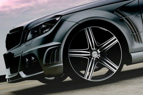 Mercedes Classe C Wagon Black Bison