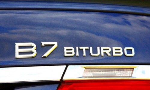 Alpina B7 - signe