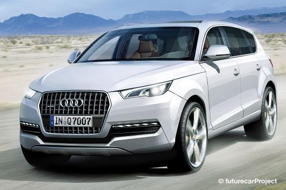 Audi Q7 2011 - Rendu 3D