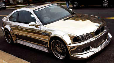 bmw m3 chrome