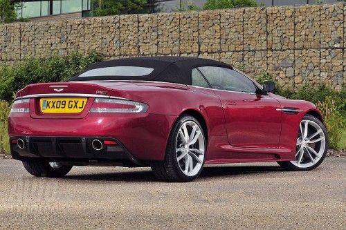 Aston martin DBS Volante back