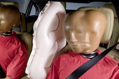 Mercedes-Benz ESF 2009 Concept - Airbag Central