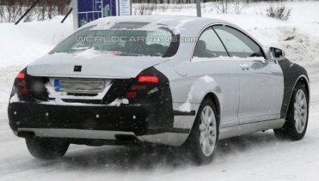 Mercedes CL Coupé - arrière - mule
