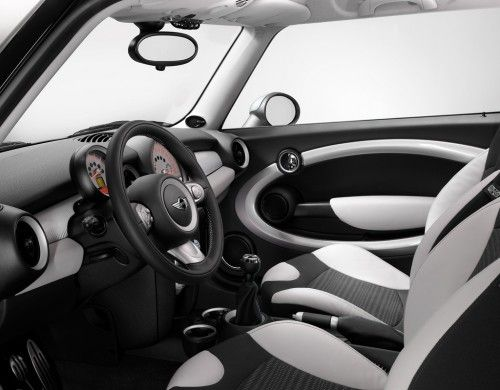 mini tech white interior