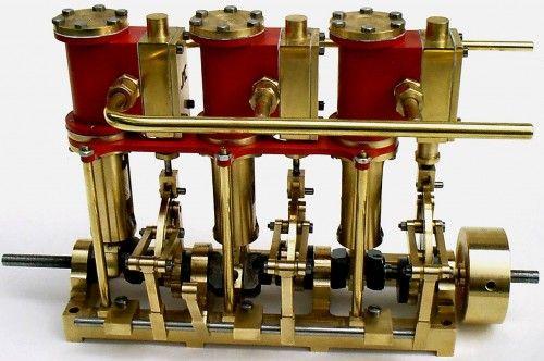 moteur tricylindres