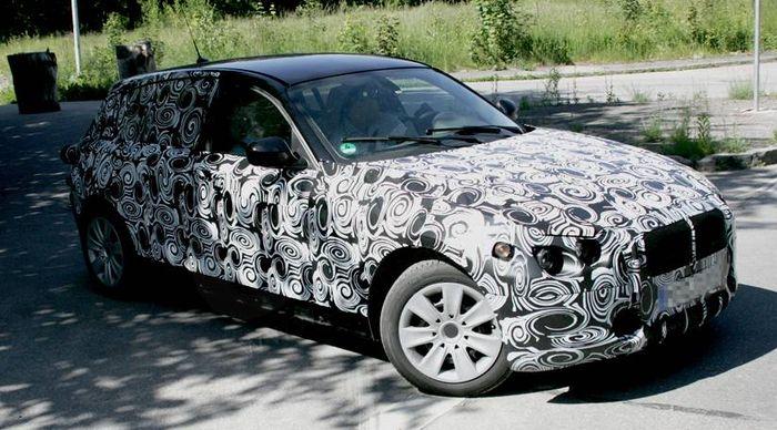 BMW série1 spyshot