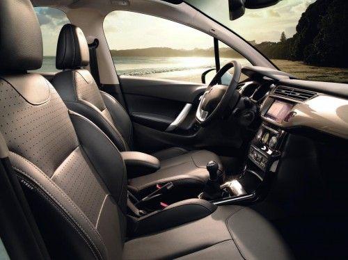 nouvelle Citroen C3-2010 seats