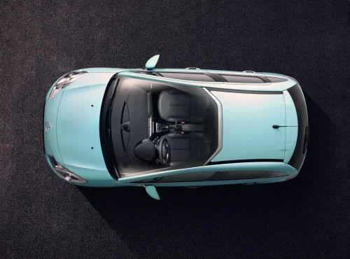 nouvelle Citroen C3 roof