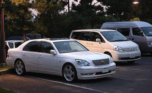 celsior in parking