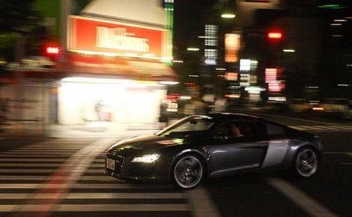 R8 in Tokyo