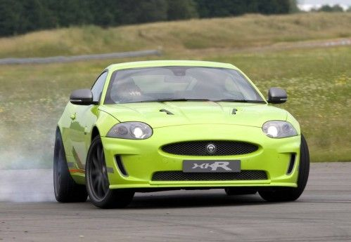2009-Jaguar-XKR-Goodwood-Special-Front-angle-and-drift
